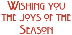 joys of the season